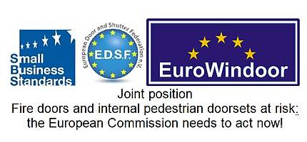 EuroWindoor-EDSF-SBS joint position on fire doors and internal pedestrian doorsets