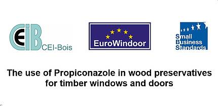 Upcoming approval end date of propiconazole: a safe transition period is needed to secure the relevancy of sustainable wood-based products in construction (JOINT PRESS RELEASE)